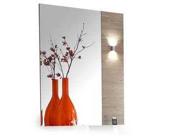 DUBLIN Spiegel 70x100 cm weiß/taupe