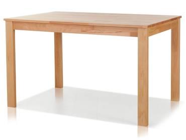 EMANUELA ausziehbarer Esstisch / Massivholztisch lackiert