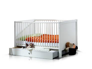 FEE Babybett mit Schlupfsprossen