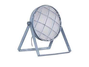 FREDA II Tischlampe Metall Grau