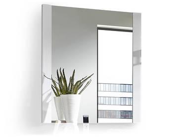 GRANDE Garderobenspiegel / Wandspiegel / Spiegel weiß