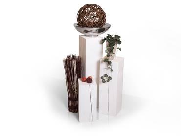 Blumensäule/Dekosäule Fichte massiv