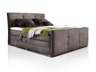 imperium boxspringbett 180x200 cm h rtegrad 3 schlamm. Black Bedroom Furniture Sets. Home Design Ideas