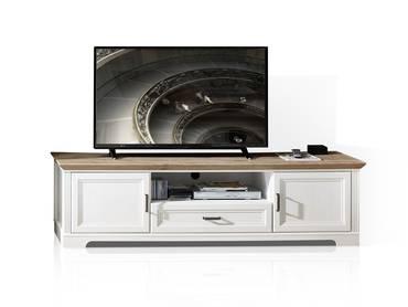 JADY TV-Unterteil 2, Material MDF piniefarbig hell/eichefarbig
