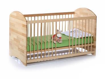 babybetten f r die kleinsten babybett mit sprossen und lattenrost. Black Bedroom Furniture Sets. Home Design Ideas