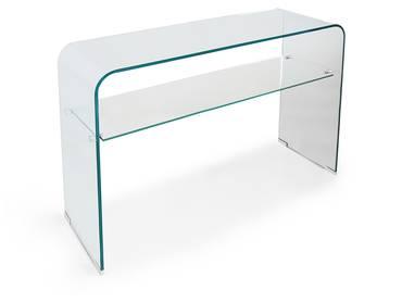 JULI Konsole/Beistelltisch, Material Klarglas
