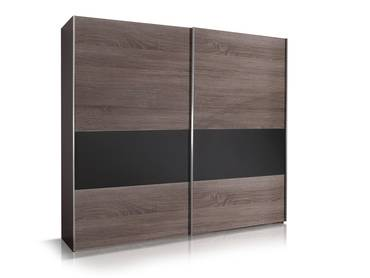 leila futonbett 140 x 200 cm montana eiche lavagrau. Black Bedroom Furniture Sets. Home Design Ideas