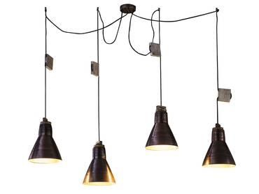 ryder stehleuchte led 3 flammig glaskugel drahtgeflecht. Black Bedroom Furniture Sets. Home Design Ideas