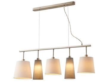 tafel h ngelampe industrial tube schwarz 5 lampen. Black Bedroom Furniture Sets. Home Design Ideas