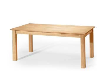 LUDWIG Esstisch/Tisch Buche lackiert