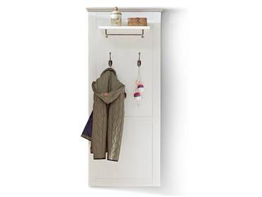 LOUISA Garderobenpaneel Pinie hell/taupe Nachbildung MDF