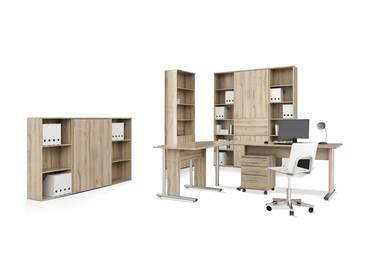 MARAUN Komplett-Büro Eiche Bianco