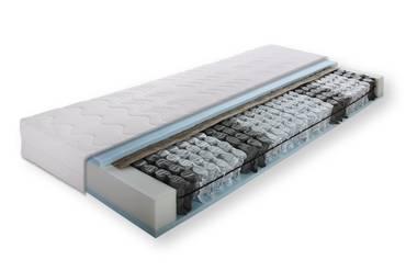 Taschenfederkernmatratze 7-Zonen 80 x 200 cm   Härtegrad 3