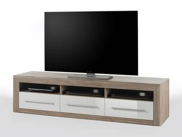 lowboard mit stauraum tv und hifi m bel mit gro er. Black Bedroom Furniture Sets. Home Design Ideas