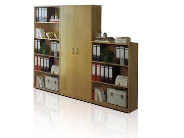 OFFICE COMPACT Schrankwand 3-tlg, Material Dekorspanplatte
