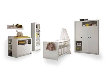 PAOLO Komplett-Babyzimmer weiss