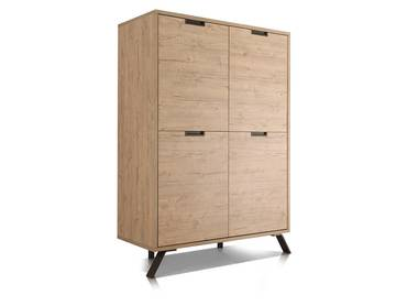 PENTHOUSE Highboard mit 4 Türen
