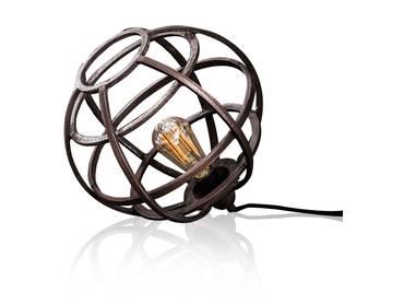 ROLI Tischlampe Metall Kupferfarbig