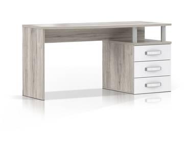 ROMANA Schreibtisch Sandeiche/weiß