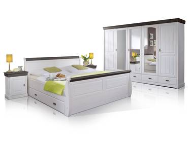 ROMAN Komplett-Schlafzimmer Kiefer