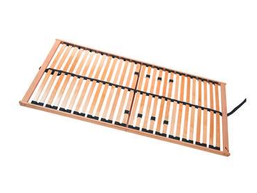 RUBIN 5-Zonen Lattenrost NV, stabile Birke, TÜV zertifiziert 90 x 200