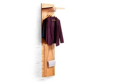 RUSTY Garderobenpaneel mit Ablage Eiche geölt