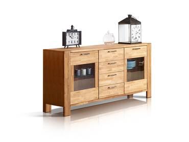 rusty tv teil mit 1 schubkasten eiche ge lt. Black Bedroom Furniture Sets. Home Design Ideas