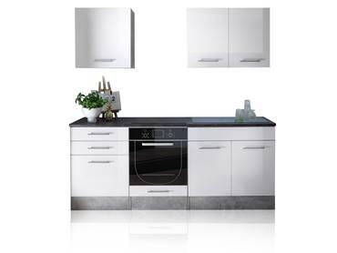 SALITO Mini Küche Dekor betongrau/weiß