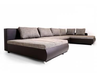 casino 8 wohnwand wei beige eiche wenge. Black Bedroom Furniture Sets. Home Design Ideas