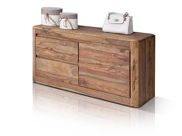 nils i garderobe sheesham gebeizt. Black Bedroom Furniture Sets. Home Design Ideas