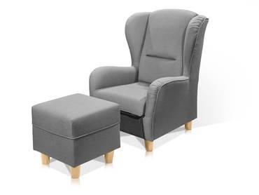 Sessel moderne design sessel bequeme polstersessel f r for Ohrensessel weinrot
