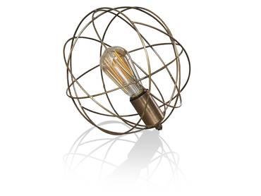 SPACE Tischlampe Metall mit Antikbronze-Finish