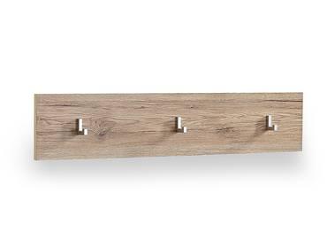 Spots garderobenpaneel wandgarderobe san remo eiche hell for Spiegel 90x100
