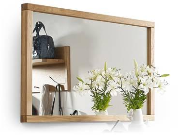 spiegel aus eiche wandspiegel mit holzrahmen aus eiche online kaufen. Black Bedroom Furniture Sets. Home Design Ideas