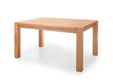 T6 Esstisch/Massivholztisch 140 x 90 cm | Kernbuche | geölt