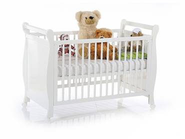 babybetten f r die kleinsten babybett mit sprossen und. Black Bedroom Furniture Sets. Home Design Ideas