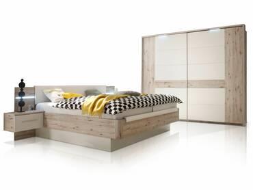 UPDATE Schlafzimmer-Set Sandeiche/weiß