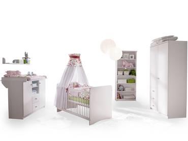 YOGI II Babyzimmer Kiefer weiß