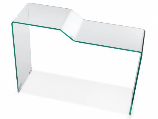 LANO Konsole / Beistelltisch, Material Klarglas