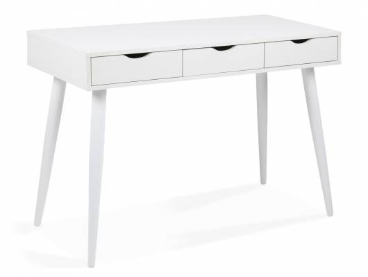 NERY Schreibtisch / Schminktisch, Material MDF, weiss