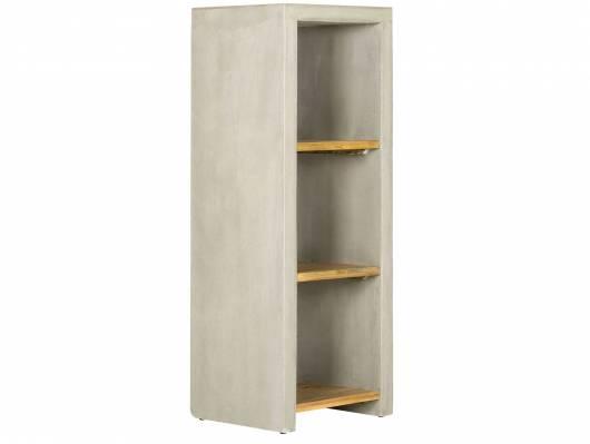 GLAY Regal I, Material Massivholz, Pinie/Beton