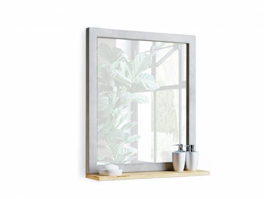 GLAY Spiegel, Material Massivholz, Pinie, Beton