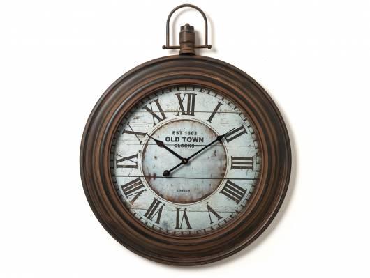 HORLOGE Uhr Old Town, Material Metall/Glas