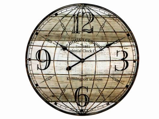 HORLOGE Uhr British Company, Material Metall