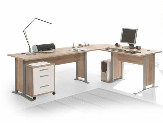 OFFICE LINE Winkelkombination, Material Dekorspanplatte