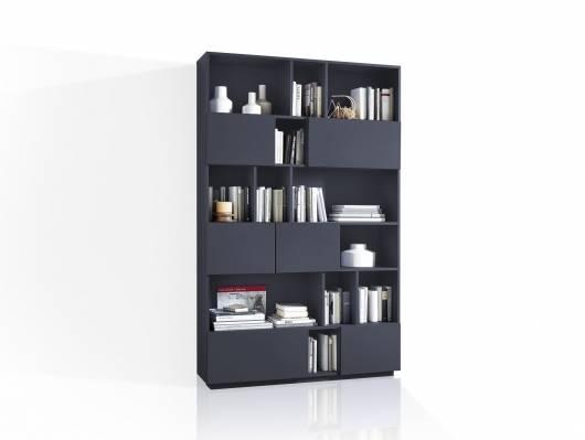 RAMIRO Regal / Raumteiler, Breite 120 cm, Material MDF