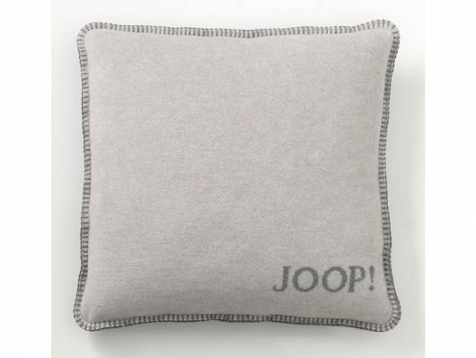 joop uni doubleface kissen mit f llung grau. Black Bedroom Furniture Sets. Home Design Ideas
