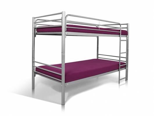 Etagenbett Erwachsene Metall : Jonny etagenbett aus metall in doppelstockbett tÜv geprüft