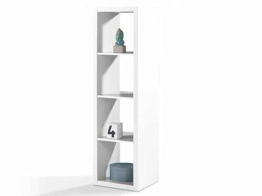SALONA Raumteiler 4, Material Dekorspanplatte, 4 Fächer