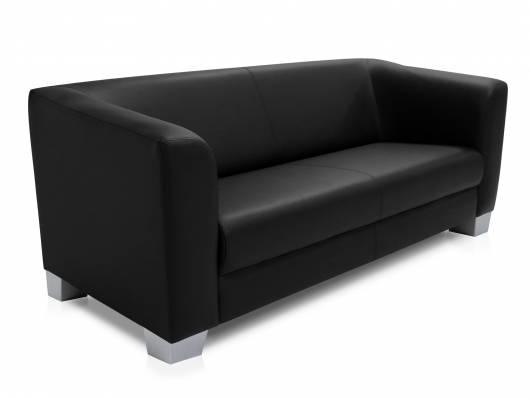 CHICAGO 3-Sitzer Sofa, Material Kunstleder